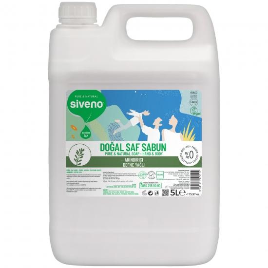 Defne Yağlı Doğal Sıvı Sabun El ve Vücut İçin 5L